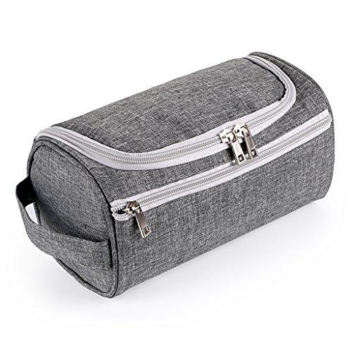Sumnacon Nouveau Style Trousse/Sac de Toilette Carré Homme, cube avec Crochet Suspendu, Organisateur pour Gymnastique, Business et Vacance, --Dimensio...