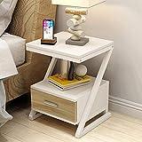 ZR- Nachttisch, Multifunktionale Lagerung Lagerung Couchtisch - Nachttisch Schrank - Seite/Tabelle - Wanddekoration (Farbe : C)