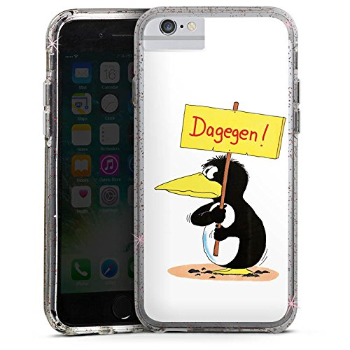 Apple iPhone 6 Bumper Hülle Bumper Case Glitzer Hülle Uli Stein Merchandising Pour Supporters Fanartikel Merchandise Bumper Case Glitzer rose gold