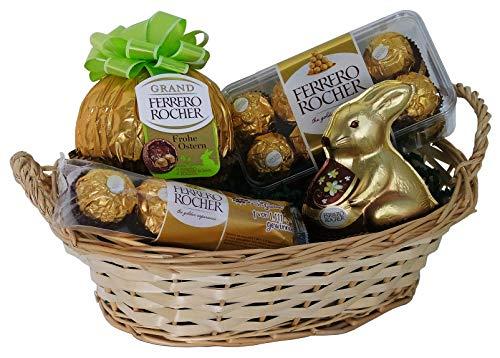 Preisvergleich Produktbild Geschenk Set Osternest mit Ferrero Rocher (4-teilig)