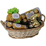 Coffret Cadeau de Pâques avec Ferrero Rocher (avec 4 pièces)