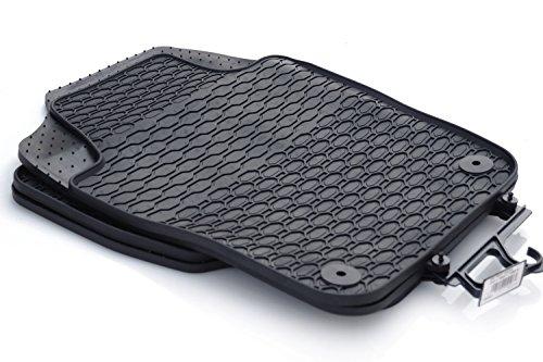 Gummimatten Seat Ibiza 5 Original Qualität Auto Gummi Fußmatten 4x schwarz