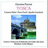Puccini : Tosca 1929. Sabajno, Melis, Pauli, Granforte.