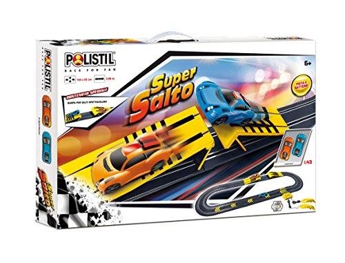 Polistil 960413 - Pista Batteria B/O Super Salto
