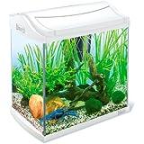 Tetra 211933 AquaArt Crayfish Aquarium-Komplett-Set 30 L, für Krebse und Garnelen mit innovativer Technik und einfacher Pflege, White Edition