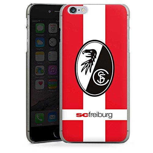 Apple iPhone X Silikon Hülle Case Schutzhülle SC Freiburg Fanartikel SCF Fussball Hard Case anthrazit-klar