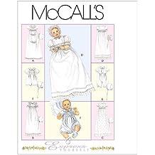 McCalls 6221 - Patrones de costura para confeccionar faldones para bebé (6 modelos, en