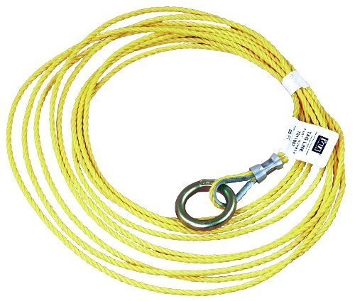dbi-sala-7211857-tagline-for-self-retracting-lifeline-25-foot-3-16-inch-polypropylene-rope-with-o-ri