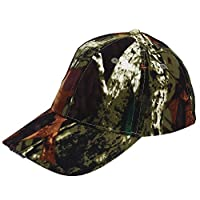 Tbest LED Hat Baseball Cap Hat Camo/Black 5 LED Hat Light Ultra Bright LED Fishing Hat Hands Free for Men/Women Fishing Hunting Camping Hiking Walking Jogging(Camouflage)