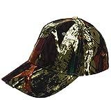 Gorra de Béisbol Gorras Pesca LED Sombrero con Linterna para Camping Pesca(Camuflaje)