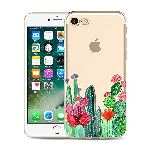 "iPhone 6S Plus TPU Hülle,iPhone 6S Plus Handytasche HandyHülle, BoomTeck Silikon Hülle Transparent Schutzhülle für 5.5"" Apple iPhone 6S Plus/iPhone 6 Plus Slim Weiche Unsichtbare Gel-Skizze Stoßfest G 01"