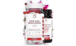 Keto Plus Quemagrasas DIA - Quemagrasas potente para adelgazar - Pastillas para adelgazar muy rapido Quema grasa producto muy concentrado - Dieta Cetogenica Fat Burner - 2520MG +MEDICOS