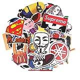 Lyanther Liebe Sticker Pack 100-Pcs Aufkleber Decals Vinyls für Laptop, Kinder, Autos, Motorrad, Fahrrad, Skateboard Gepäck, Autoaufkleber Hippie Aufkleber Bombe Wasserdicht