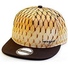 heringsküt I Baseballcap Snapback Angler cap I Cappello Pesca per Pescatori Cappellini  con Visiera Piatta  b295fc46ee05