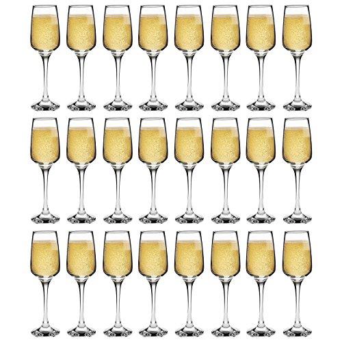Tallo - Flûtes à champagne - moderne - Lot de 24 verres - 230 ml