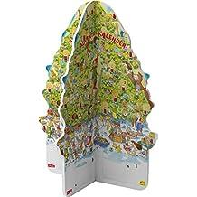 Pixi Adventskalender in Weihnachtsbaumform 2019: mit 24 Pixi-Büchern in zwei gestanzten Teilen, die zu einem 3D-Baum zusammengesteckt werden
