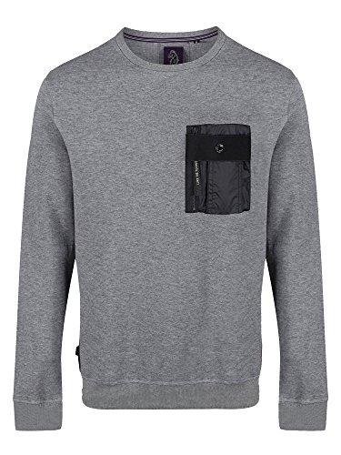 Luke Sport Herren Sweatshirt Grau