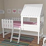Kinderbett 90x200 weiß rausfallschutz  Kinderbetten 90 x 200 - Kauftipps & aktuelle Angebote