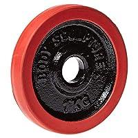Body Sculpture SOLX-BW-402DN, 1 Kg  Weight Plate Rubber
