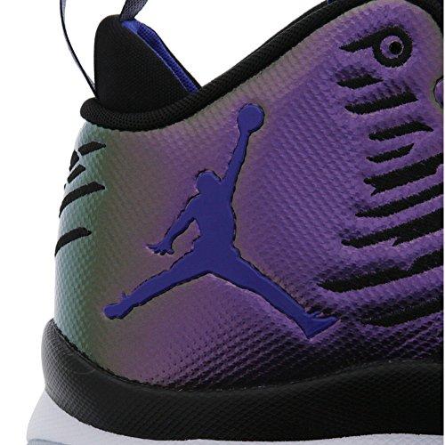 Nike 844677-012, Scarpe da Basket Uomo Nero