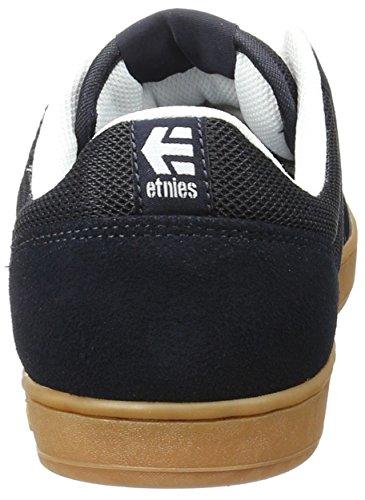 Etnies Herren Marana Skateboardschuhe Blau (Navy/White/Gum)