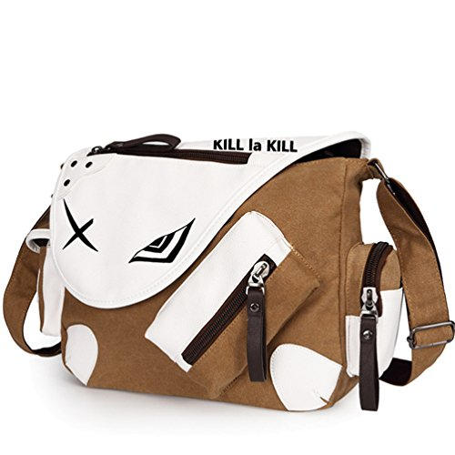 Yoyoshome giapponese anime Cosplay zaino Zaino messenger bag borsa a tracolla nero Fullmetal Alchemist Kill la Kill1