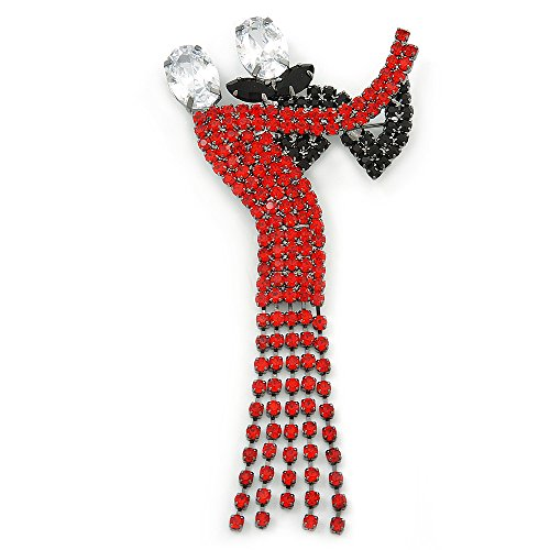 dancing-couple-austrian-crystal-brooch-in-gun-metal-finish-black-red-colour-105mm-length