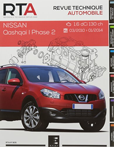 Revue Technique 805 Qashqai I Ph2:1.6 Dci(130 Ch)03/2010a 2014