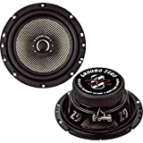 Hama Ground Zero GZRF 65XII - Altavoces (Universal, 2-way, montable en techo, Piso, Empotrado en pared/techo, Mesa/estante, Montar en la pared, 90W, 4 Ohmio, 91.5 Db) Negro