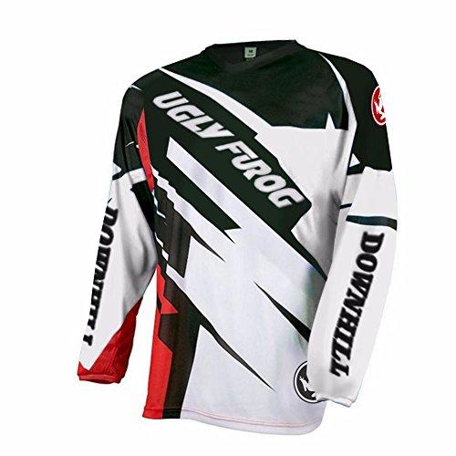 Uglyfrog 2018 Neueste Lange Ärmel Jersey Frühlingsart Motocross Mountain Bike Downhill Shirt Herren Sportbekleidung Kleidung