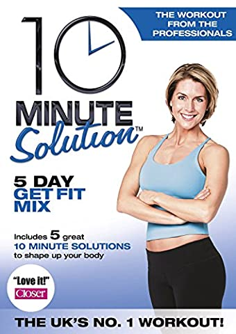 10 Min Solution 5 Day Get Fit Mix [Edizione: Regno