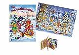 Adventskalender mit 24 kleinen Bilderbüchern