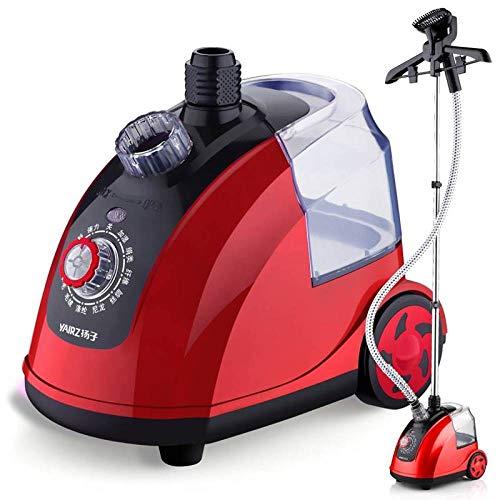 ELECT Dampfhängemaschine, bügelnde Bügelmaschine der Haushaltshand, Mini vertikales Eisen,Rot,Einheitsgröße