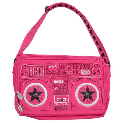 F*** Me I'm Famous: Guetta Blaster Kühltasche mit Lautsprecher - Fuschia, Einheitsgröße