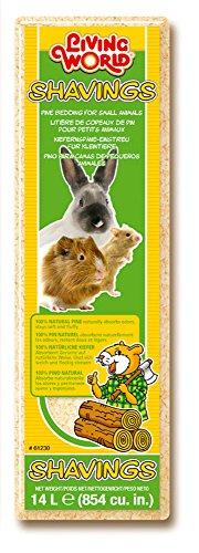 Living World Copeaux Literie pour Petit Animal 14 L 1 kg