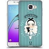 Head Case Designs Alice Et Dinah Alice Au Pays Des Merveilles Étui Coque en Gel molle pour Samsung Galaxy A5 (2016)