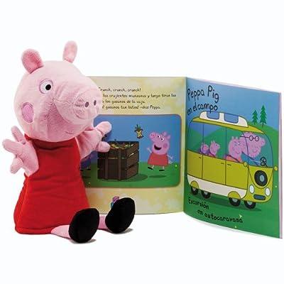 Peppa Pig - Marioneta con cuento (Simba 4589441)