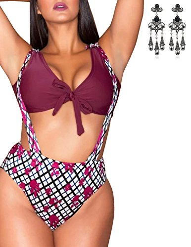 MODETREND Mujer Bañadores Biquinis Tallas Grandes Push up Bikinis Conjuntos Atractivo Traje de Baño Beachwear Swimsuit Swimwear Playa Natación Dos Piezas