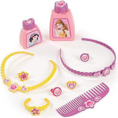 Friesiersalon Disney Princess, 34×91 cm, mit großem Spiegel und Zubehör: Kinder Frisier Tisch Set Schminktisch Kosmetik Spielzeug - 5