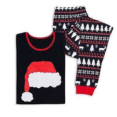Kenebo Otoño E Invierno Servicio A Domicilio Pijamas Modelos De ExplosiÓN Traje Sombrero De Navidad Padre Hijo