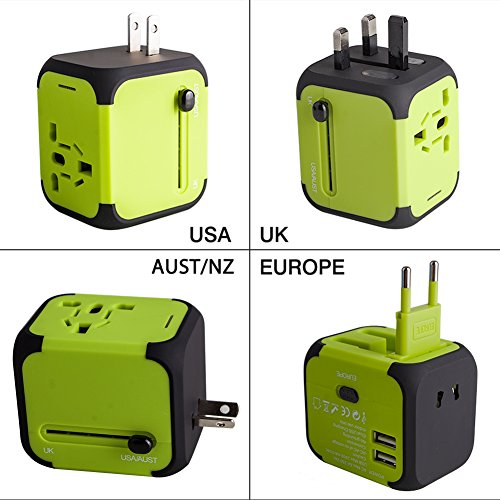 Adaptador Enchufe, Milool Cargador Enchufe USB,...