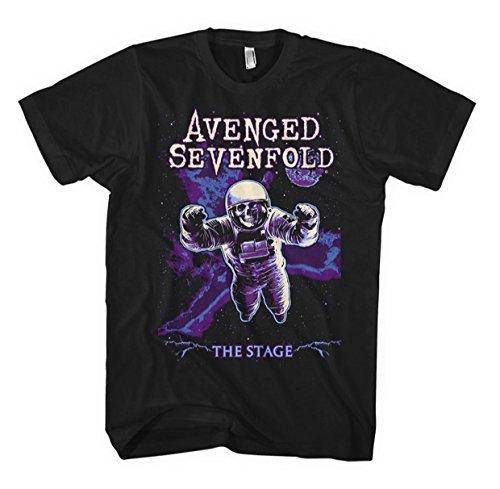 Avenged Sevenfold Polarised Astronaut T-Shirt nero Nero