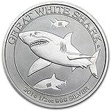 Australia Great White Shark 201450Cents 1/2oz (15,55Gr.) Plata 999Silver Coin Moneda