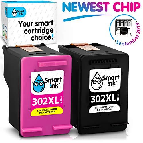Smart Ink Kompatibel Druckerpatronen Tintenpatronen Für Hp 302xl 302 Xl 2 Multipack Schwarz Farbige Patrone Hoher Kapazität Für Deskjet 1110 1112