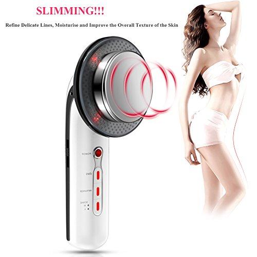 3 in 1 professionale ad ultrasuoni grasso cellulite removal massaggiatore per viso e corpo, cavitazione ems slim ming massaggiatore per la perdita di peso bellezza macchina