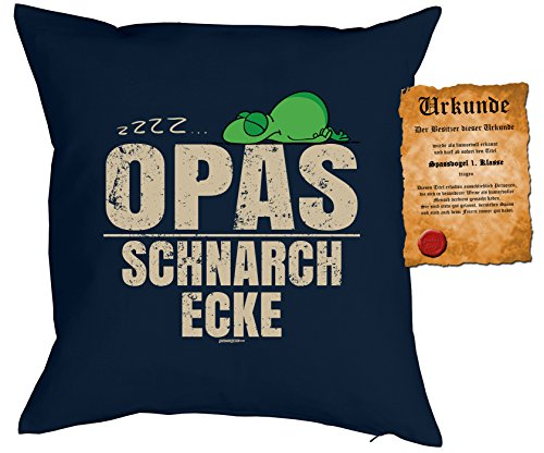 - OPAS SchnarchEcke - mit SPAßVogel-Urkunde ()