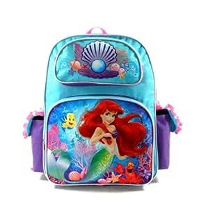 Ariel la petite Sirène Sac à dos pour l'école - Light blue | Cartable Grande 40cm