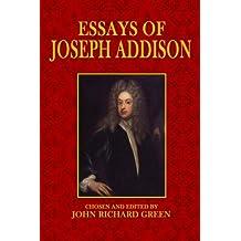 amazon co uk joseph addison books biography audiobooks essays of joseph addison