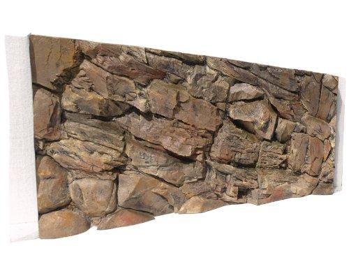Aquarium Rückwand 3D Felsen 120x50 bei Robizoo