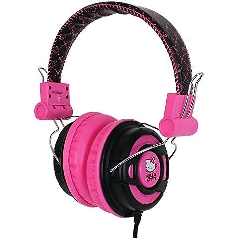 Hello Kitty DJ Style Over the Ear Foldable Headphone - KT2091BP